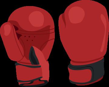 Autocollant Métier Loisirs Sport Boxe