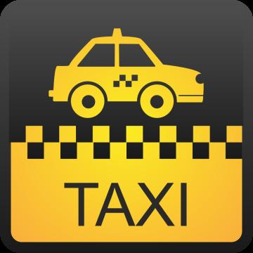 Autocollant Métier Transport Taxi 2