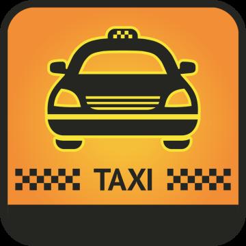 Autocollant Métier Transport Taxi 3