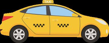 Autocollant Métier Transport Taxi 4