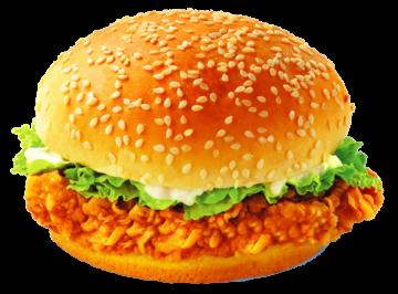 Autocollant Salé Hamburger