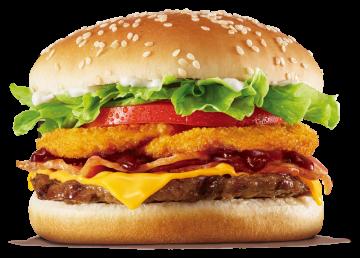 Autocollant Salé Hamburger 2