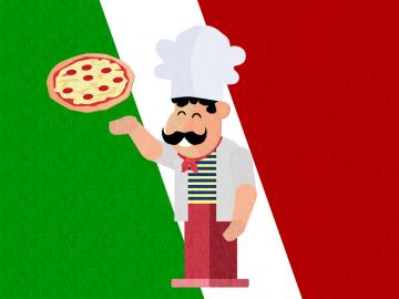Autocollant Pizza Chef