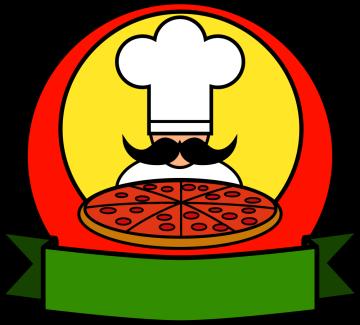 Autocollant Pizza Chef 2