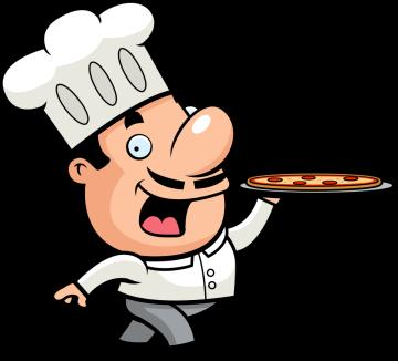 Autocollant Pizza Chef 4