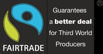 Autocollant Logo Fair Trade Commerce Equitable
