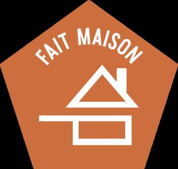 Autocollant Logo Fait Maison
