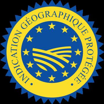 Autocollant Logo Igp Indication Géographique Protégée