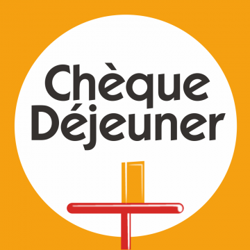 Autocollant Logo Chèque Déjeuner