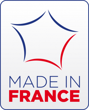 Autocollant Logo Made In France 2
