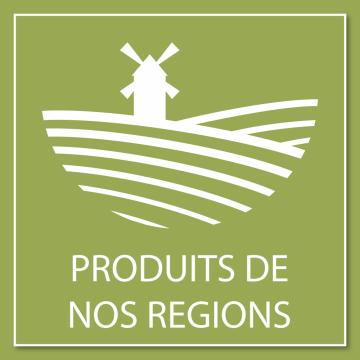 Autocollant Logo Produits Régionaux