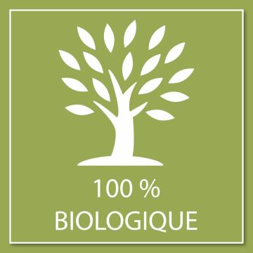 Autocollant Logo 100% Biologique