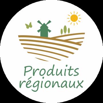Autocollant Logo Produits Régionaux 2