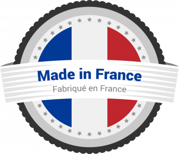 Autocollant Logo Made In France 3