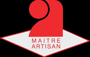 Autocollant Logo Maître Artisan 2