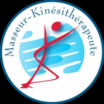 Autocollant Logo Masseur Kiné