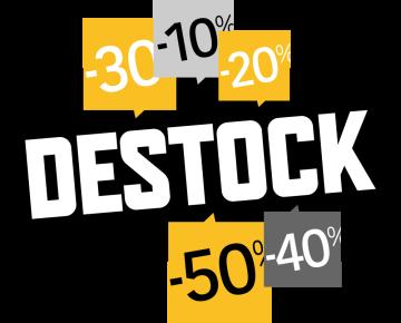 Autocollant Soldes Destock 1