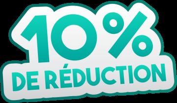 Autocollant Soldes 10% De Réduction