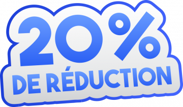 Autocollant Soldes 20% De Réduction