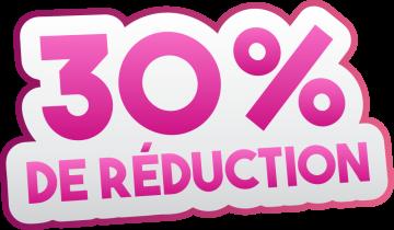 Autocollant Soldes 30% De Réduction