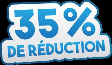 Autocollant Soldes 35% De Réduction