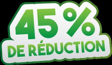 Autocollant Soldes 45% De Réduction