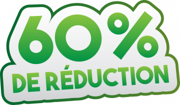 Autocollant Soldes 60% De Réduction