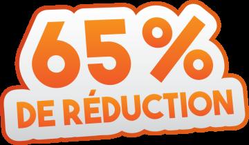 Autocollant Soldes 65% De Réduction