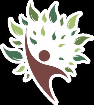 Autocollant Logo Nature Arbre Bonhomme 1