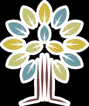Autocollant Logo Nature Arbre 1