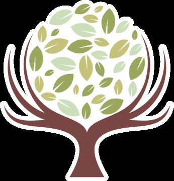 Autocollant Logo Nature Arbre 2