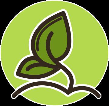 Autocollant Logo Nature Ecologie 1