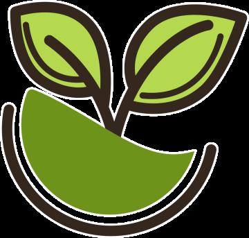 Autocollant Logo Nature Ecologie 2