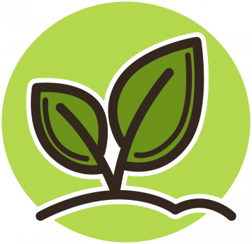 Autocollant Logo Nature Ecologie 3