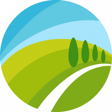 Autocollant Logo Nature Paysage 2