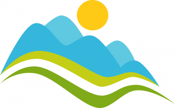 Autocollant Logo Nature Paysage 3