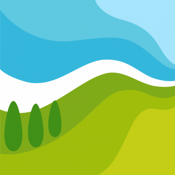 Autocollant Logo Nature Paysage 5