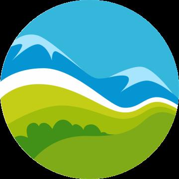 Autocollant Logo Nature Paysage 6