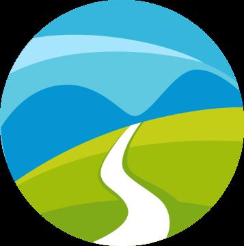 Autocollant Logo Nature Paysage 7