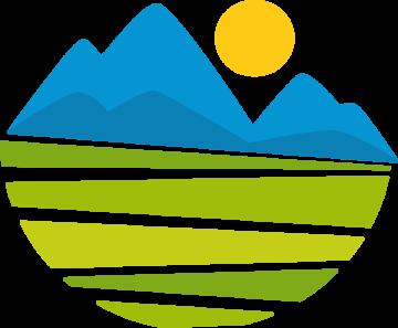 Autocollant Logo Nature Paysage 8