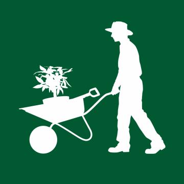Autocollant Logo Nature Jardinage 2