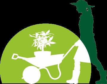 Autocollant Logo Nature Jardinage 9