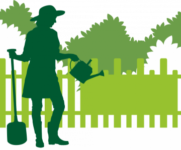 Autocollant Logo Nature Jardinage 10