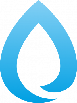 Autocollant Logo Nature Eau 1