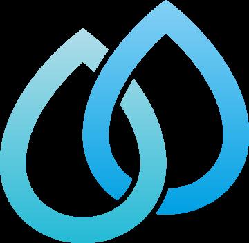 Autocollant Logo Nature Eau 3