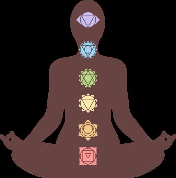 Autocollant Logo Yoga Meditation 1