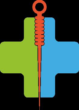 Autocollant Logo Acupuncture