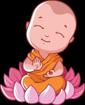 Autocollant Logo Yoga Meditation 11