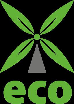 Autocollant Logo Nature Ecologie 16