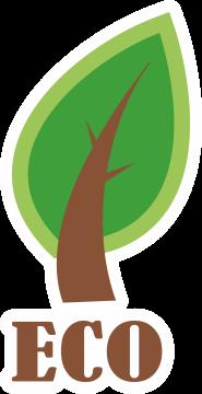 Autocollant Logo Nature Ecologie 25